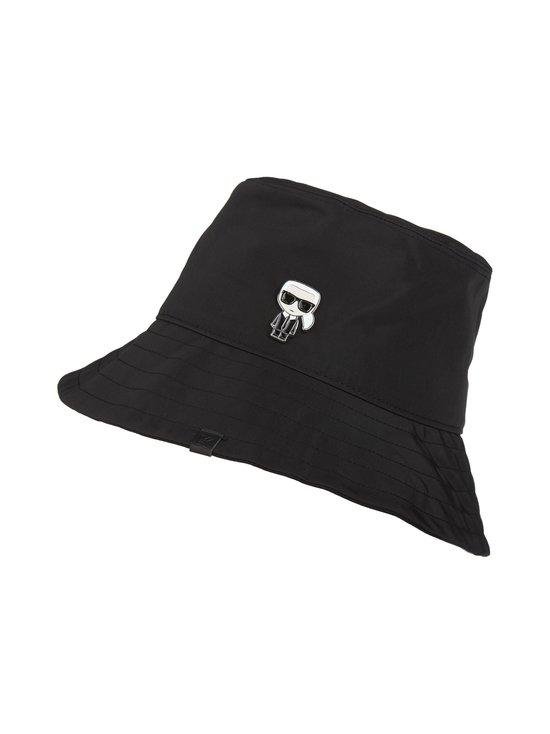 Karl Lagerfeld - K/Ikonik Bucket Hat -hattu - BLACK A999 | Stockmann - photo 1