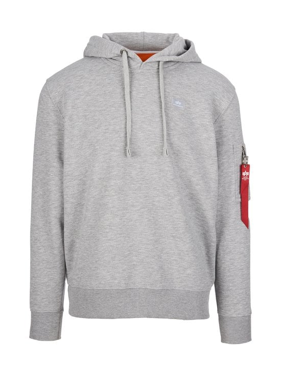 Alpha Industries - X-Fit Hoodie -huppari - GREY HEATHER 17 | Stockmann - photo 1