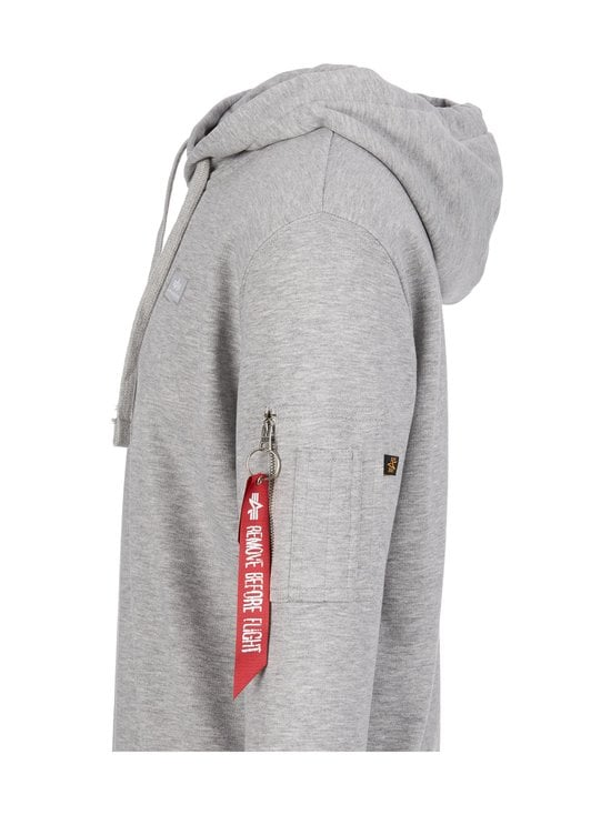Alpha Industries - X-Fit Hoodie -huppari - GREY HEATHER 17 | Stockmann - photo 3