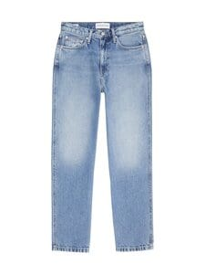 Calvin Klein Jeans - High Rise Straight Ankle -farkut - 1AA DENIM LIGHT | Stockmann
