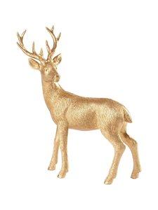 Villeroy & Boch - Christmas Toys 2019 Deer Standing -joulukoriste 22 cm - GOLD   Stockmann