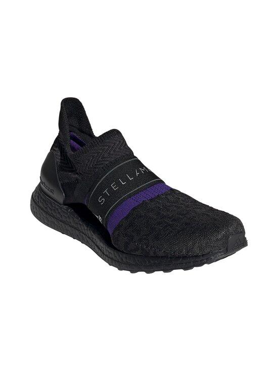 adidas by Stella McCartney - UltraBOOST X 3D Knit -juoksukengät - CORE BLACK/COLLEGIATE PURPLE/PEACH NOUGAT-SMC | Stockmann - photo 7