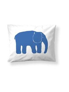 Finlayson - Yksi Elefantti -tyynyliina 50 x 60 cm - BLUE | Stockmann