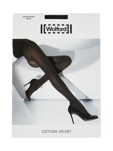 Wolford - Cotton Velvet -sukkahousut - BLACK | Stockmann