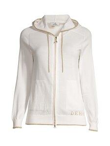 Deha - Hooded Knitted Cardigan -huppari - 18001 WHITE | Stockmann