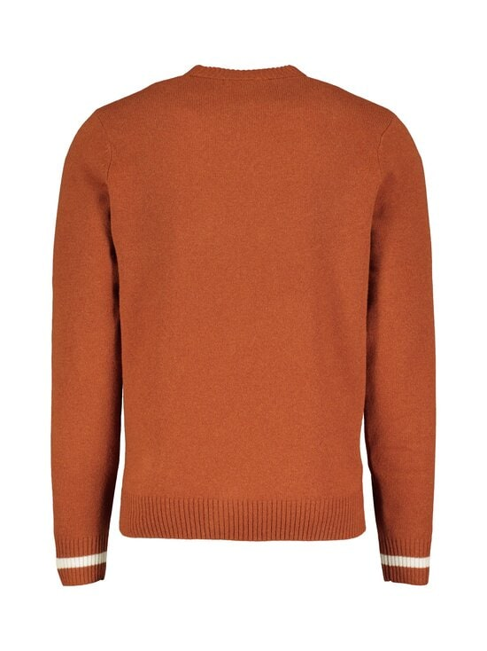 Fred Perry - Tipped Crew Neck Jumper -villaneule - 946 PAPRIKA | Stockmann - photo 2