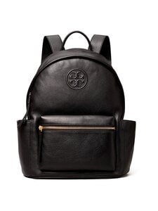 Tory Burch - Perry Bombé Backpack -nahkareppu - BLACK | Stockmann