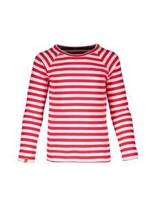 Metsola - RIB Striped -paita - 251 RED - WHITE | Stockmann