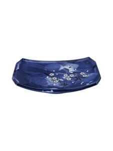 Tokyo Design Studio - Blue Sakura Oblong -lautanen 22 x 15 cm - BLUE | Stockmann