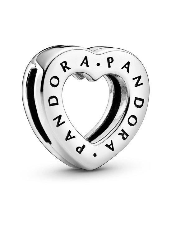 Pandora - Pandora Logo Heart Clip -hela - 798741C00 SILVER | Stockmann - photo 1