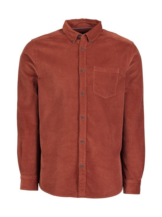 Only & Sons - OnsBennet LS Reg Baby Cord Shirt -paita - HENNA | Stockmann - photo 1