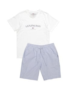 Lexington - Pyjama - LIGHTBLUE STRIPE | Stockmann