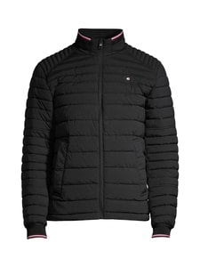 Tommy Hilfiger - Flex Quilted Jacket -toppatakki - BDS BLACK | Stockmann