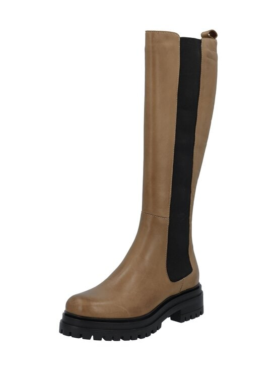 BIANCO - Biadarlene Chelsea Long Boot -nahkasaappaat - 266 BEIGE 6   Stockmann - photo 3