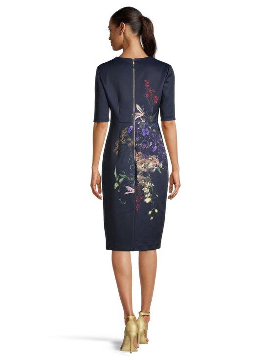 Ted Baker London - Carvir Pomegranate Midi Bodycon Dress -mekko - 10 NAVY | Stockmann - photo 3