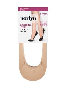 Norlyn - Ballerina Steps -avokassukat 2-pack - 9202 POWDER | Stockmann
