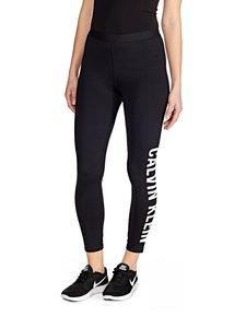 Calvin Klein Performance - 7/8 Tight Logo Leg -trikoot - CK BLACK | Stockmann