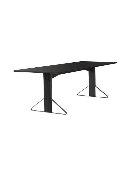 Artek - REB002 Kaari -pöytä, linoleum - BLACK LINOLEUM/BLACK OAK (MUSTA) | Stockmann - photo 1