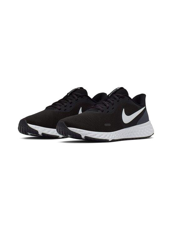 Nike - Revolution 5 -juoksukengät - 002 BLACK/WHITE-ANTHRACITE   Stockmann - photo 3
