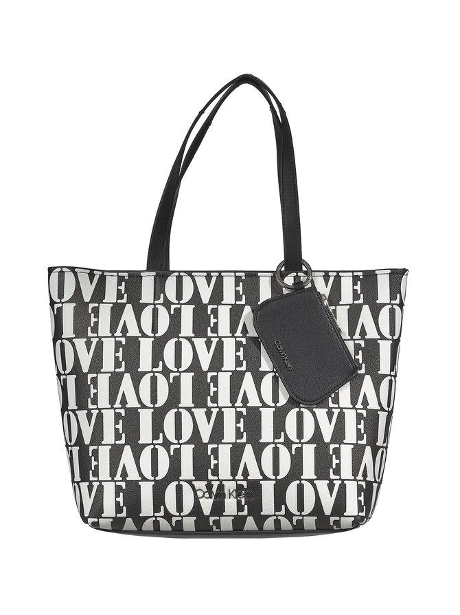 Must Medium Shopper Love -laukku