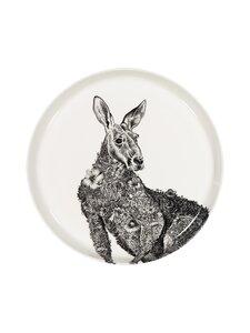 Maxwell&Williams - Kangaroo-lautanen 20 cm - BLACK/WHITE | Stockmann