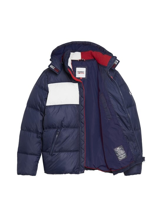 Tommy Jeans - Tjm Colour-Blocked Padded -toppatakki - C87 TWILIGHT NAVY 654-860 | Stockmann - photo 3