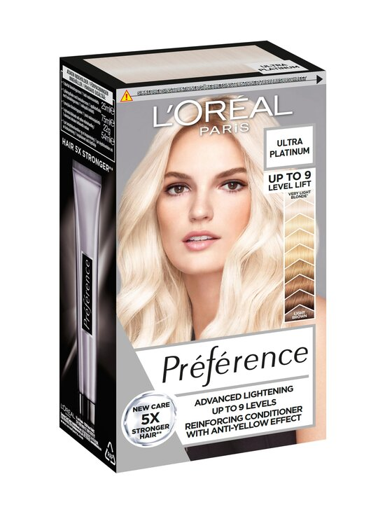 L'Oréal Paris - Préférence Hair Bleach -vaalennusaine - ULTRA PLATINUM   Stockmann - photo 1