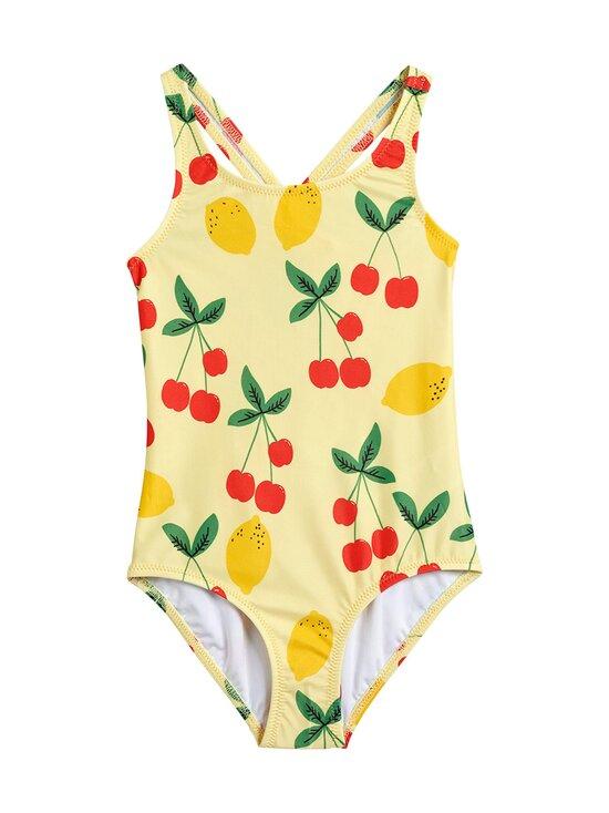 Mini Rodini - Cherry Lemonade Swimsuit -uimapuku - YELLOW | Stockmann - photo 1
