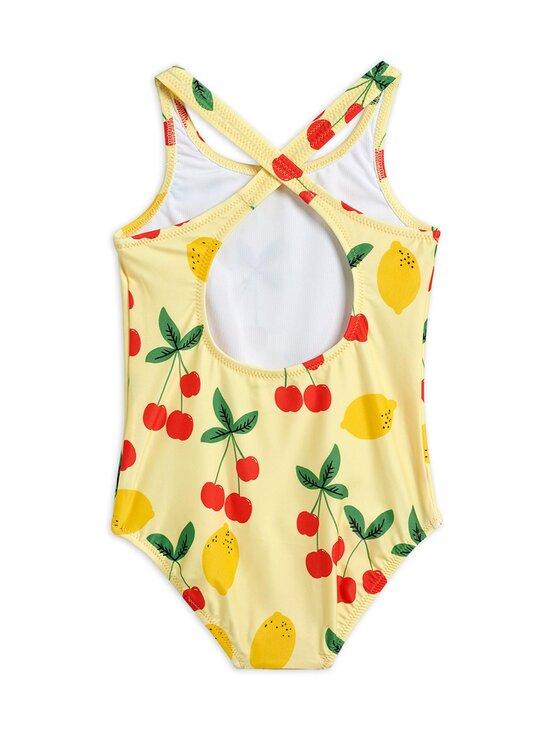 Mini Rodini - Cherry Lemonade Swimsuit -uimapuku - YELLOW | Stockmann - photo 2
