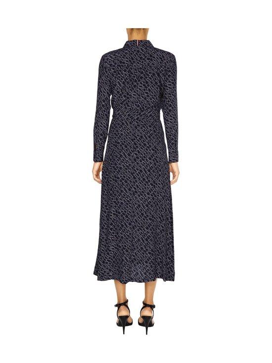Tommy Hilfiger - All-Over Print Maxi Shirt Dress -mekko - 00P SML BRANDED DIAGONAL PRT DESERT SKY | Stockmann - photo 2