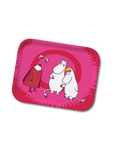 Moomin - Invisible Child -tarjotin 27 x 20 cm - MULTICOLOR | Stockmann