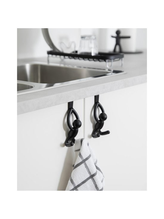 Umbra - Buddy Over the Cabinet Hook -koukku 2 kpl - BLACK | Stockmann - photo 8