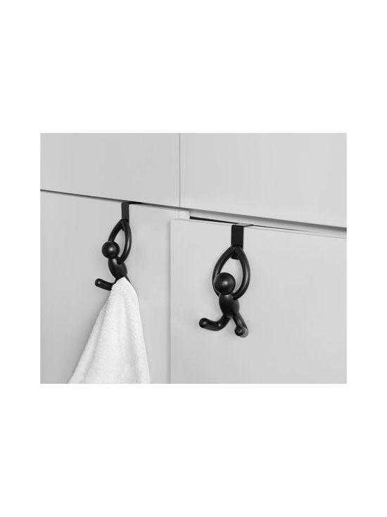 Umbra - Buddy Over the Cabinet Hook -koukku 2 kpl - BLACK | Stockmann - photo 9