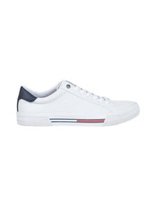 Tommy Hilfiger - Essential Low-Top Leather Trainers -sneakerit - YBR, WHITE | Stockmann