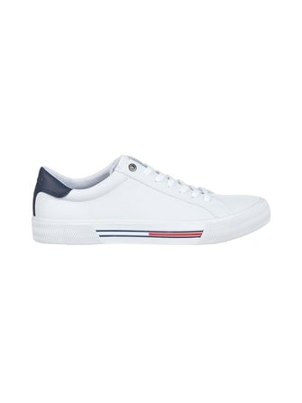Essential Low-Top Leather Trainers -sneakerit - Tommy Hilfiger