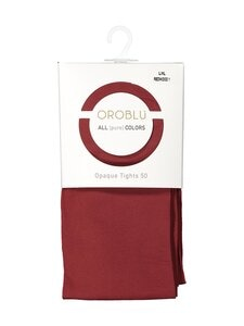 Oroblu - All Colors 50 den -sukkahousut - REDWOOD 1 | Stockmann