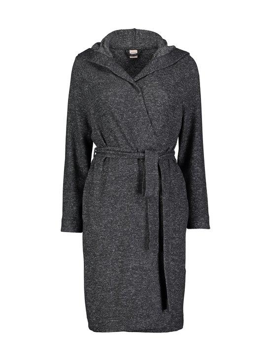 NOOM loungewear - Anita-aamutakki - BLACK GREY MEL   Stockmann - photo 1