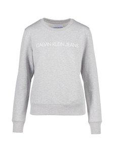 Calvin Klein Jeans - Institutional Core Logo -collegepaita - LIGHT GREY HEATHER | Stockmann