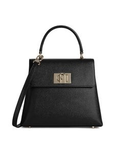 Furla - 1927 S Top Handle -nahkalaukku - O6000 NERO | Stockmann
