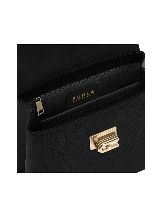 Furla - 1927 S Top Handle -nahkalaukku - O6000 NERO | Stockmann - photo 3
