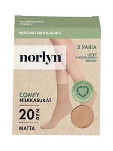 Norlyn - Comfy Matt 20 den -sukat 2-pack - 9202 POWDER | Stockmann