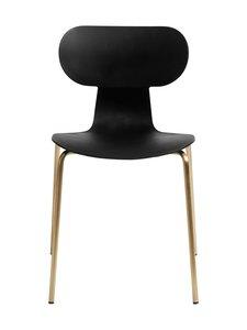 Muubs - Yogo S -tuoli 47 x 79 x 47 cm - BLACK/ANTIQUE BRASS | Stockmann