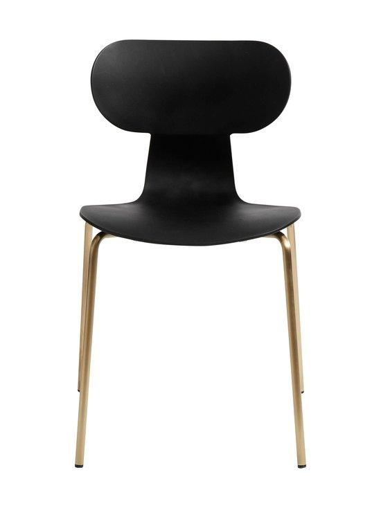 Muubs - Yogo S -tuoli 47 x 79 x 47 cm - BLACK/ANTIQUE BRASS   Stockmann - photo 1