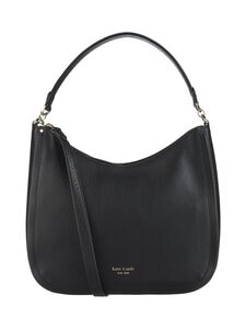 kate spade new york - Roulette Large Hobo Bag -nahkalaukku - BLACK | Stockmann