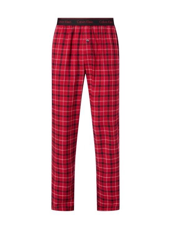 Calvin Klein Underwear - Sleep Pant -housut - 989 GANNETT PLAID_SWEET BERRY | Stockmann - photo 1