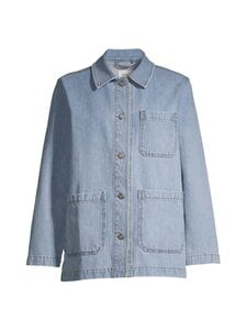 Wood Wood - Mary-Ann Denim Jacket -farkkutakki - HEAVY VINTAGE WASH | Stockmann