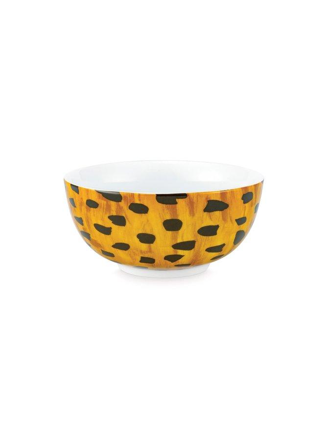 Cheetah Spots -kulho 15 cm