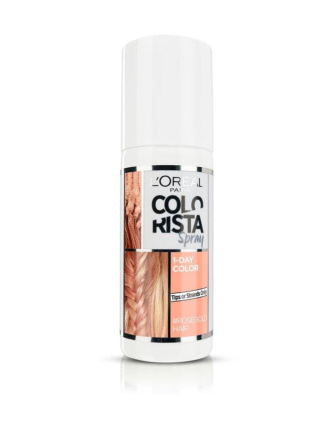 Colorista Spray 1-Day Colour #Rosegoldhair -suihkutettava hiusväri 75 ml