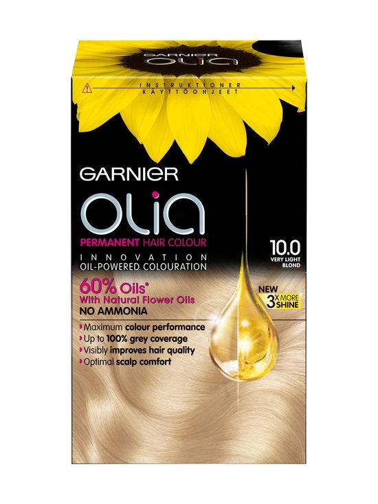 Garnier - Olia-hiusväri - 10.0 VERY LIGHT BLOND | Stockmann - photo 1