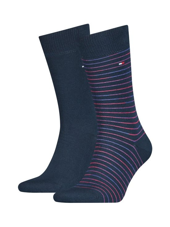 Tommy Hilfiger - Sukat 2-pack - 010NAVY / RED | Stockmann - photo 1